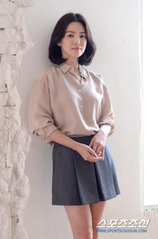 song hye kyo xinh dep tre trung khong ty vet - 3