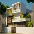 Nhà đẹp - Xây nhà hiện đại trên đất 144m2