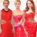 """Thời trang - Đầm đỏ """"đổ bộ"""" thảm đỏ Emmy 2014"""