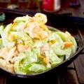 Bếp Eva - Salad tôm, cần tây tươi mát