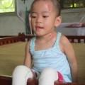 Chùm ảnh: Cuộc sống mới của bé Tâm Anh chùa Bồ Đề