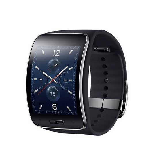 samsung ra mat smartwatch gear s man hinh cong, co 3g - 2