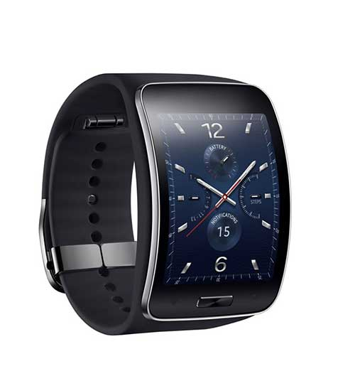 samsung ra mat smartwatch gear s man hinh cong, co 3g - 3