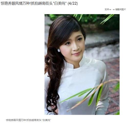 Thiếu nữ Việt được khen đẹp trên trang tin nước ngoài-5