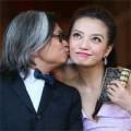 Làng sao - Đạo diễn Trần Khả Tân hôn Triệu Vy tại LHP Venice