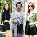 Thời trang - Thời trang chào thu sành điệu của tín đồ Châu Á