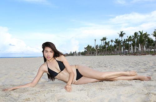 Thí sinh người mẫu khoe đường cong đẹp ngỡ ngàng-4
