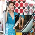 Làng sao - Lâm Chi Khanh lộ hình xăm mới khi mặc váy ngắn