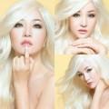 """Làng sao - Thúy Nga hóa """"búp bê Barbie"""" tóc bạch kim"""