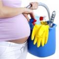 Nhà đẹp - Mẹo vệ sinh nhà cửa an toàn cho bà bầu