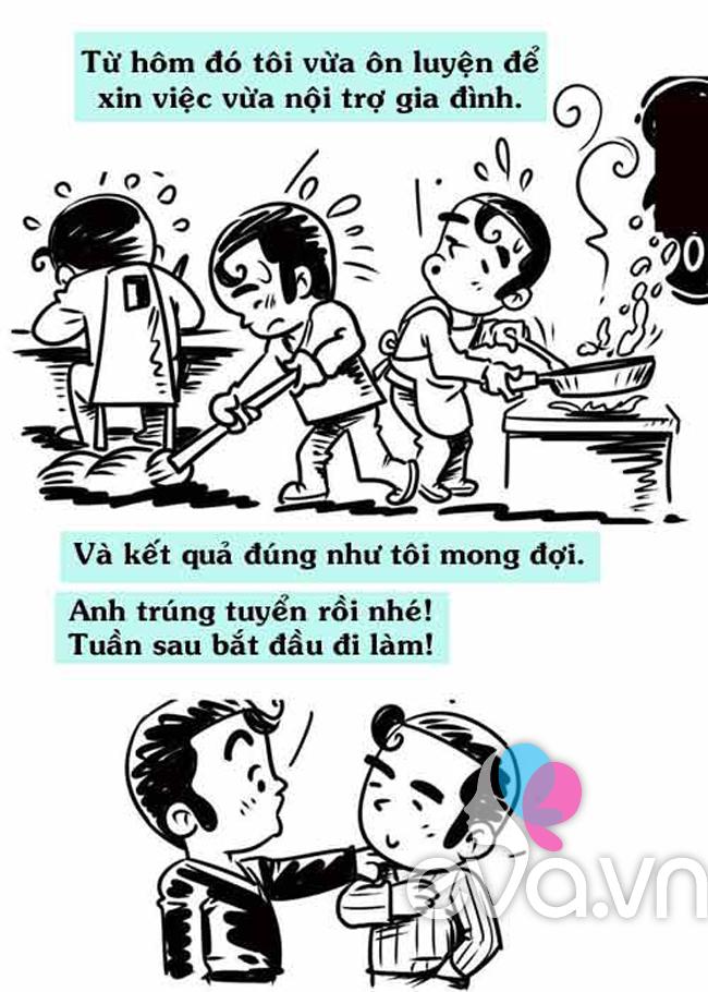 Chết cười chuyện đàn ông thất nghiệp (P.2)
