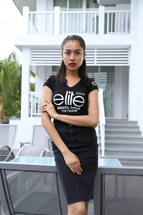 thi sinh elite model look tung suyt la... hoa hau - 1