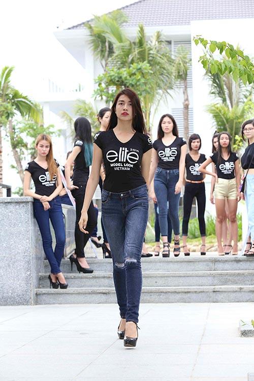 thi sinh elite model look tung suyt la... hoa hau - 2