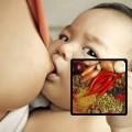 Làm mẹ - Cho con bú không nên ăn hành, ớt, tỏi