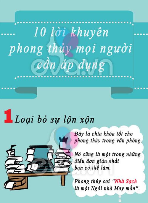10 meo phong thuy co loi de ap dung ngay - 1
