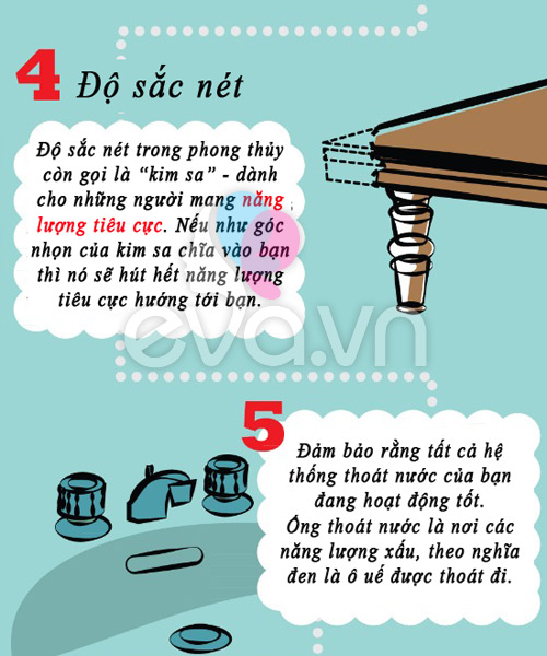 10 meo phong thuy co loi de ap dung ngay - 3