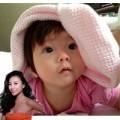 """Làng sao - Đôi mắt thiên thần của con gái Đoan Trang gây """"sốt"""""""