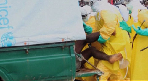 benh nhan ebola xin an khien ca khu cho nao loan - 3