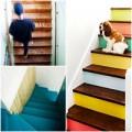 Nhà đẹp - 10 ý tưởng sáng tạo sơn cầu thang đẹp