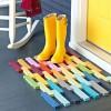 Nhà đẹp - Chọn thảm trước cửa chính để đón vận khí tốt