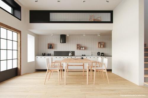 13 mẫu bếp - phòng ăn tiện nghi , đẹp mắt - 6