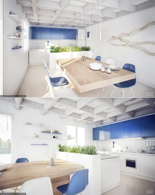 13 mẫu bếp - phòng ăn tiện nghi , đẹp mắt - 8