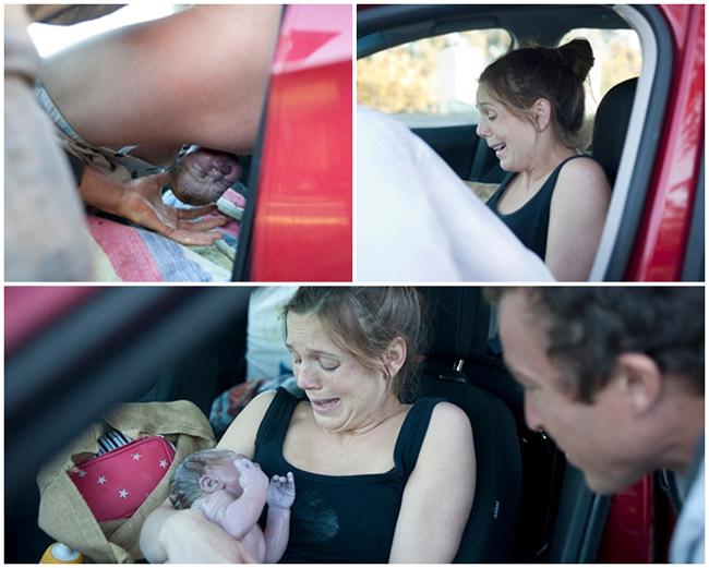 Bộ ảnh sinh con trên đường đến bệnh viện của bà mẹ trẻ người Úc khiến chính chủ nhân của bộ ảnh là mẹ Corrine Cinatl cũng vô cùng bất ngờ. Người theo dõi bộ ảnh cũng không ít lần 'thót tim' lo lắng cho sự ra đời của đứa trẻ ở nơi không một bóng người.