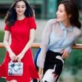 Thời trang - Váy xinh cho cô gái ngực nhỏ đi chơi Trung Thu