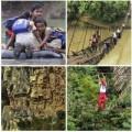 Tin tức - Những con đường đi học nguy hiểm nhất thế giới