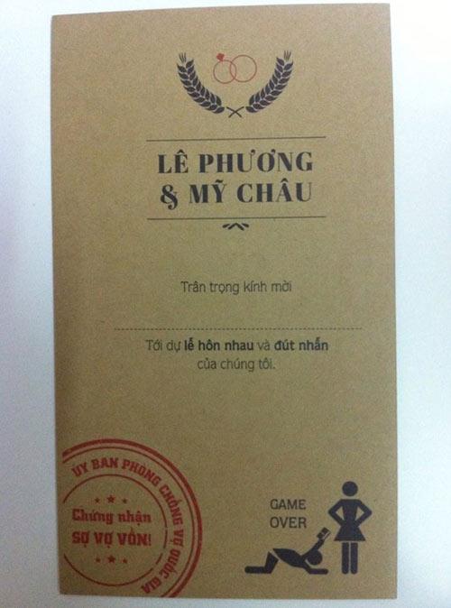 "phi cuoi voi nhung mau thiep cuoi ""ba dao"" - 1"