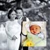 Làng sao - Vợ mới Anh Tú Quả dưa hấu đã sinh con trai