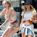 Thời trang - Mê đắm vẻ quyến rũ trên phố của Candice Swanepoel
