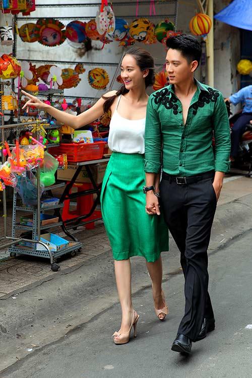 thai chi hung lan dau khoe ban gai xinh dep - 1