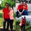 Làng sao - Vợ chồng Đức Tiến hạnh phúc xoá tin đồn ly hôn
