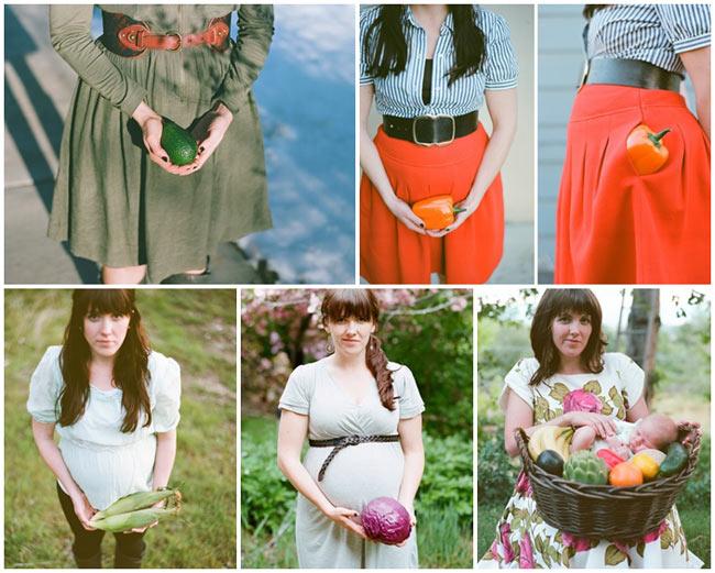 Mỗi mẹ bầu có những cách thể hiện khác nhau để ghi dấu lại hành trình 9 tháng bầu bí của mình, trong đó việc chụp ảnh từng tuần thai có lẽ là phổ biến hơn cả. Tuy nhiên, chụp ảnh tuần thai với mỗi tuần một loại trái cây tương đương với trọng lượng, kích thước của em bé trong bụng thì mẹ Carolee Beckham có lẽ là người đầu tiên nghĩ ra. Carolee Beckham là nhiếp ảnh gia nổi tiếng và đương nhiên cô biết cách đặc biệt để ghi dấu lại 40 tuần thai của mình.