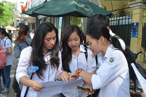 bo gd-dt cong bo phuong an ky thi chung quoc gia - 2