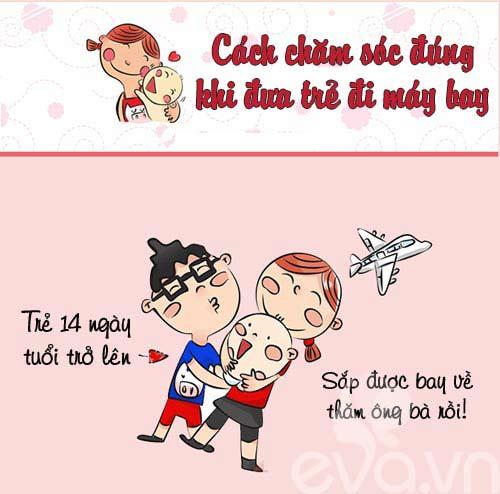 """kinh nghiem """"xuong mau"""" cho be di may bay - 1"""