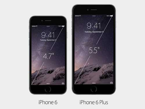 6 diem khac biet lon giua iphone 6 va iphone 6 plus - 1