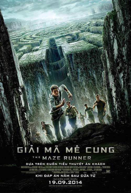 """16 ve xem cong chieu """"the maze runner"""" tai hn & tp.hcm - 1"""