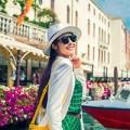 Làng sao - Ngọc Hân lãng mạn, ngọt ngào tại Venice