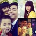 Làm mẹ - 3 nhóc nhà MC Phan Anh đẹp y hệt bố