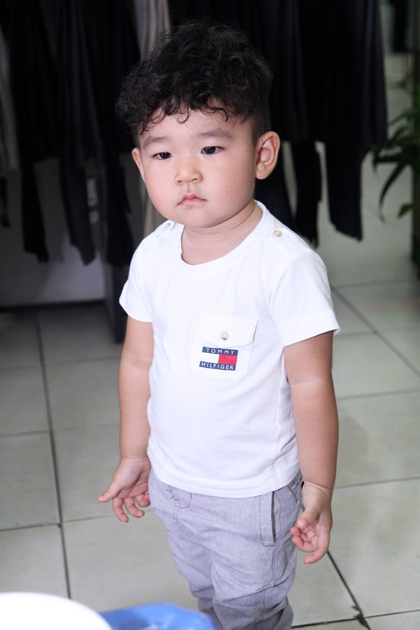 con trai diep bao ngoc dep nhu hotboy nhi xu han - 3