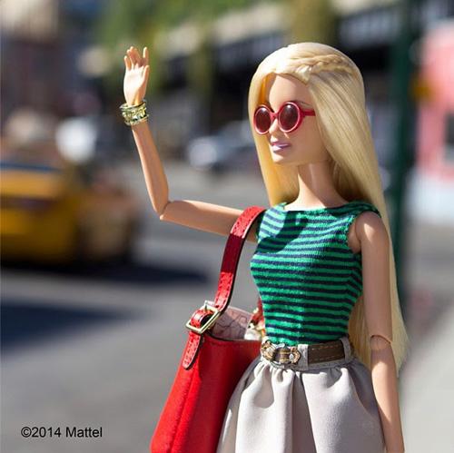 bup be barbie xung xinh vay ao du tuan le thoi trang - 4