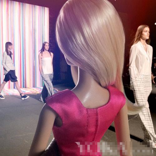bup be barbie xung xinh vay ao du tuan le thoi trang - 10