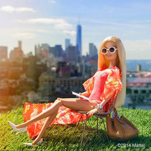 bup be barbie xung xinh vay ao du tuan le thoi trang - 12