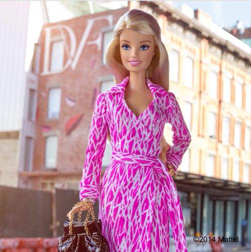 bup be barbie xung xinh vay ao du tuan le thoi trang - 3