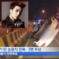 Làng sao - Seungri (Big Bang) bị tai nạn giao thông lật xe