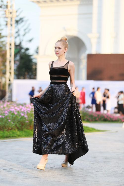 chan dai miet mai tap luyen cho dep fashion runway 3 - 3