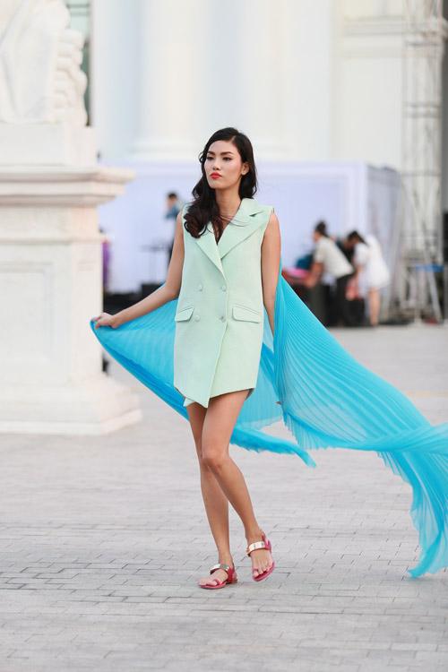 chan dai miet mai tap luyen cho dep fashion runway 3 - 13