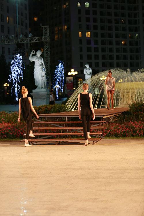 chan dai miet mai tap luyen cho dep fashion runway 3 - 18